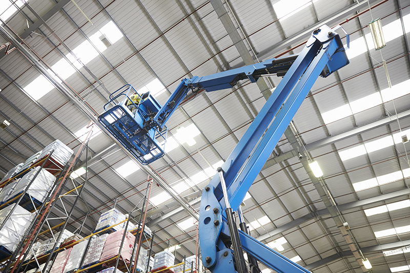 cherry picker warehouse